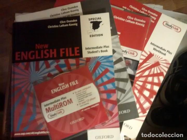 NEW ENGLISH FILE INTERMEDIATE PLUS. SECOND EDITION. BOOK + WORKBOOK + CD (Libros Nuevos - Idiomas - Inglés)