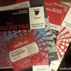 Libros: NEW ENGLISH FILE INTERMEDIATE PLUS. SECOND EDITION. BOOK + WORKBOOK + CD. Lote 184581560