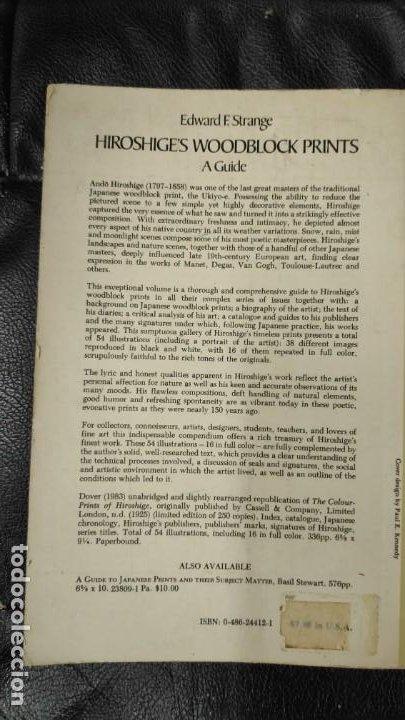 Libros: HIROSHIGE'S WOODBLOCK PRINTS A GUIDE - Foto 3 - 187382463