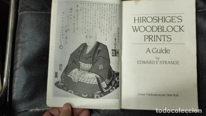 Libros: HIROSHIGE'S WOODBLOCK PRINTS A GUIDE - Foto 4 - 187382463