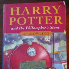 Libros: HARRY POTTER AND THE PHILOSOPHER'S STONE - J. K. ROWLING. Lote 191461852