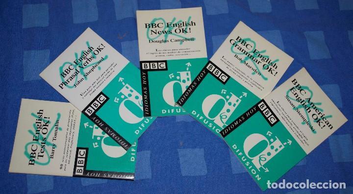 BBC ENGLISH PHRASAL VERBS, GRAMMAR, AMERICAN ENGLISH, NEWS Y TEST (5 LIBRITOS) (Libros Nuevos - Idiomas - Inglés)