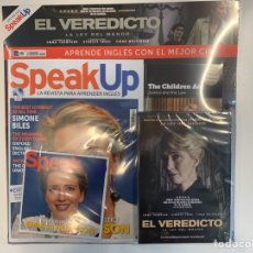 Libros: PACK SPEAK UP REVISTA Y DVD- EL VEREDICTO - NUEVO. Lote 192312815