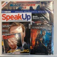Libros: PACK SPEAK UP REVISTA Y DVD - BLADE RUNNER-NUEVO. Lote 192323342