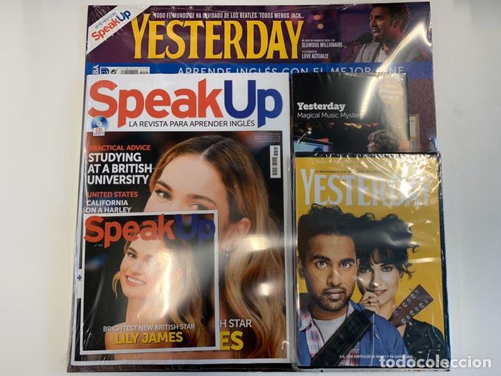 PACK SPEAK UP REVISTA Y DVD - YESTERDAY - NUEVO (Libros Nuevos - Idiomas - Inglés)