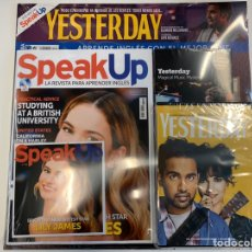 Libros: PACK SPEAK UP REVISTA Y DVD - YESTERDAY - NUEVO. Lote 192323711