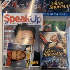 Libros: PACK SPEAK UP REVISTA Y DVD - EL GRAN SHOWMAN - NUEVO. Lote 192324173