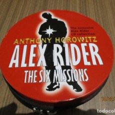 Libros: LOTE DE AUDIOLIBROS EN INGLES COLECION COMPLETA ALEX RIDER ANTHONY HOROWITZ STORMBREAKER. Lote 195327012