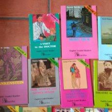 Libros: LOS LOTE DE 17 LIBROS DE LECTURA EN INGLÉS DISTINTOS NIVELES.. Lote 197634433