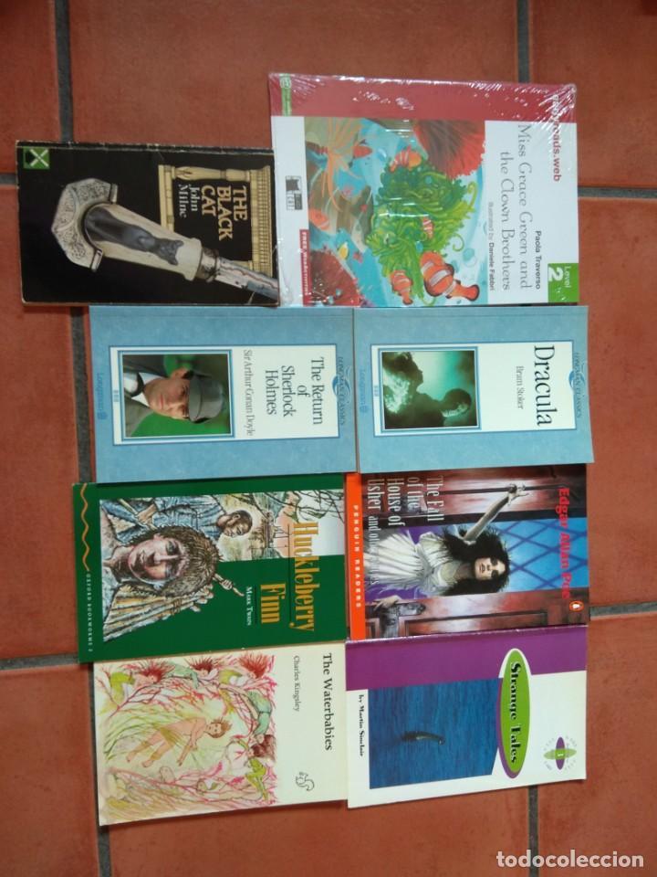 LOS LOTE DE 8 LIBROS DE LECTURA EN INGLÉS DISTINTOS NIVELES. (Libros Nuevos - Idiomas - Inglés)