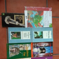 Libros: LOS LOTE DE 8 LIBROS DE LECTURA EN INGLÉS DISTINTOS NIVELES.. Lote 197636111
