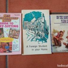Libros: LOS LOTE DE 3 LIBROS DE LECTURA EN INGLÉS DISTINTOS NIVELES.. Lote 197636266