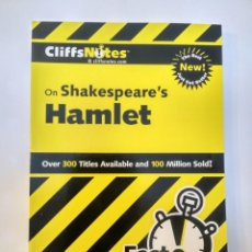 Libros: CLIFFS NOTES: SHAKESPEARE'S HAMLET 78555502646. Lote 199699867