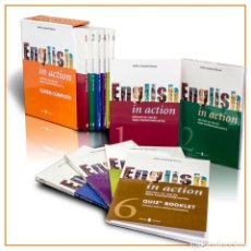 Livros: ENGLISH IN ACTION CARBONELL BASSET, DELFÍN 6 VOLÚMENES SERBAL 978-84-7628-400-1. Lote 200284350