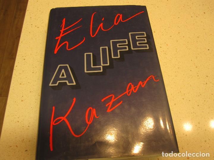 ELIA KAZAN A LIFE INGLES TAPA DURA CON SOBRECUBIERTA BUEN ESTADO (Libros Nuevos - Idiomas - Inglés)