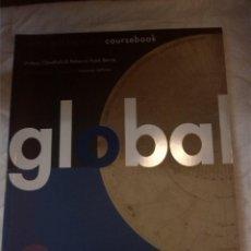 Libros: GLOBAL UPPER-INTERMEDIATE COURSEBOOK. Lote 203307740