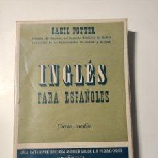 Libros: INGLES PARA ESPAÑOLES CURSO MEDIO. Lote 204079378