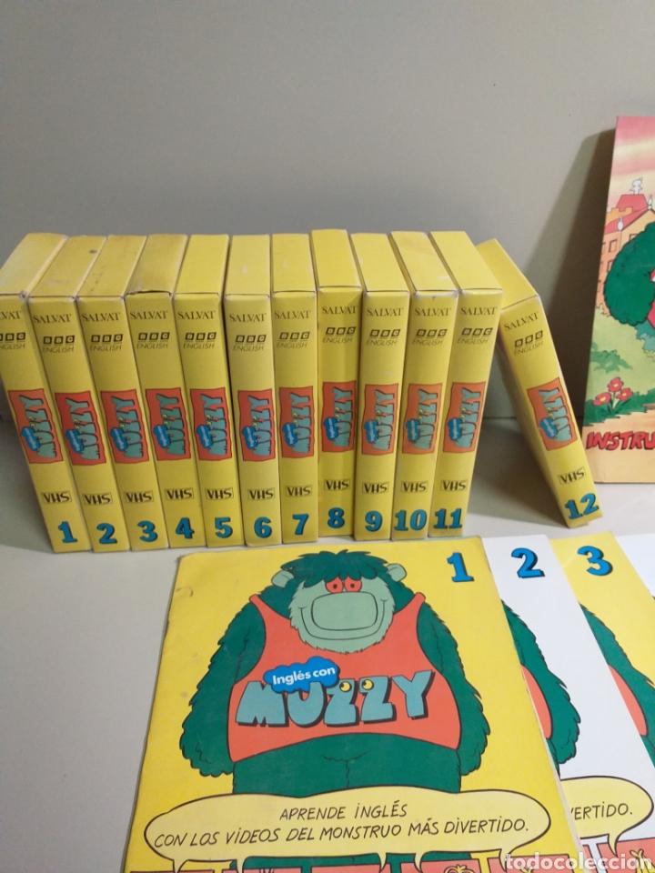 Libros: Lote Muzzy. vhs, cassette y fascículos - Foto 4 - 204592986