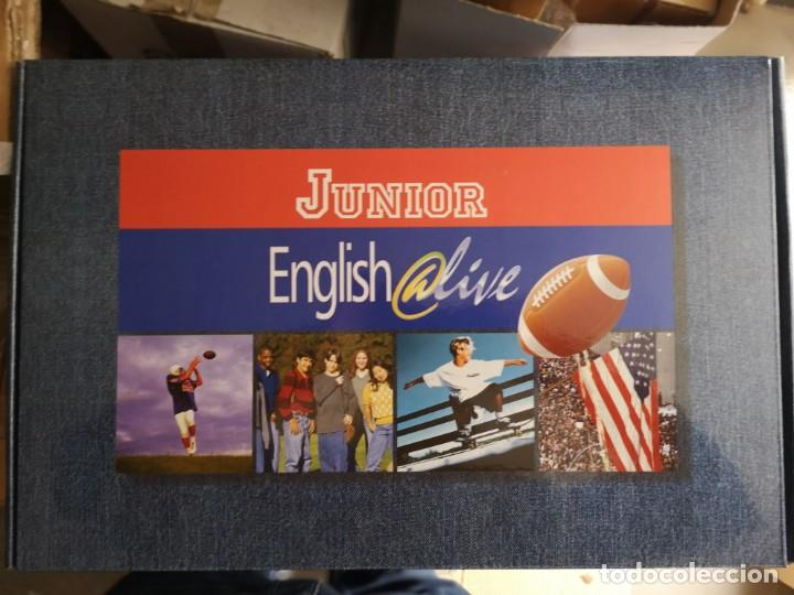 Libros: Curso de inglés junior english @live - Foto 1 - 205042447