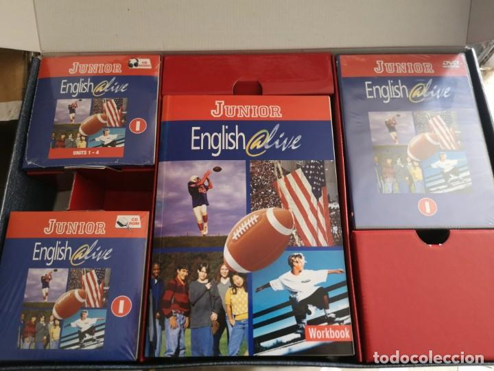 Libros: Curso de inglés junior english @live - Foto 2 - 205042447