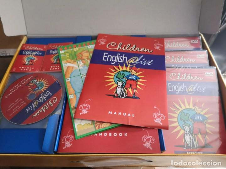 Libros: Curso de inglés children english @live - Foto 2 - 205043767