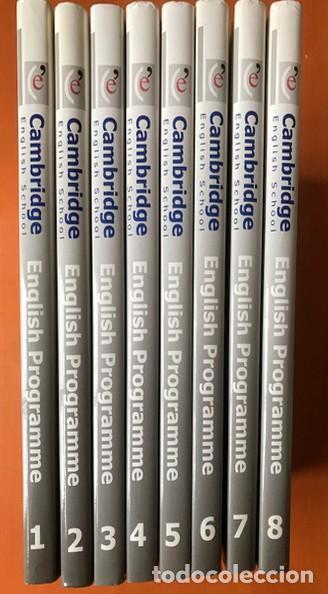 CURSO COMPLETO 8 TOMOS ENGLISH PROGRAMME GRAMMAR CAMBRIDGE ENGLISH SCHOOL - PRECINTADO (Libros Nuevos - Idiomas - Inglés)