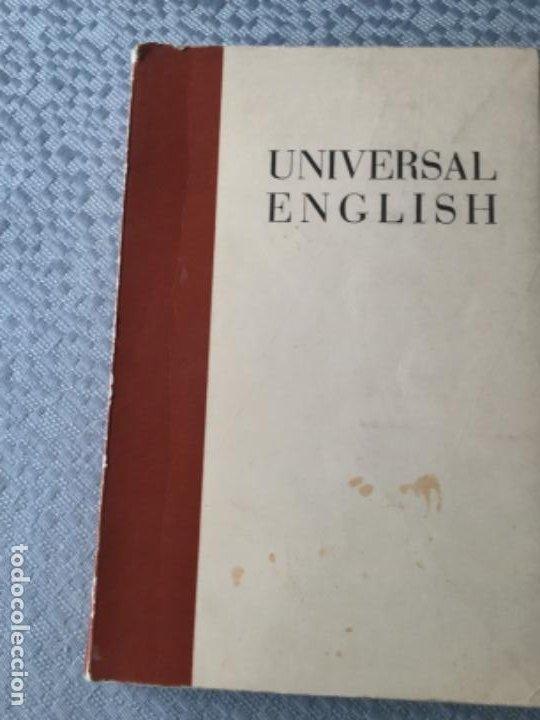 UNIVERSAL ENGLISH. BUEN ESTADO (Libros Nuevos - Idiomas - Inglés)