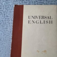 Libros: UNIVERSAL ENGLISH. BUEN ESTADO. Lote 207984063