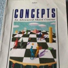 Libros: LIBRO DE EJERCICIOS PARA NIVEL INTERMEDIO/ ALTO EN ESTUDIO DE INGLÉS. Lote 207986297