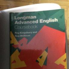 Libros: LONGMAN ADVANCED ENGLISH. EDICIÓN 1986; 208 PÁGINAS. Lote 208009972