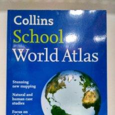 Libros: COLLINS SCHOOL WORLD ATLAS. COLLINS 9780007320851. Lote 208411953