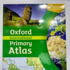 Libros: INTERNATIONAL PRIMARY ATLAS. OXFORD 9780198480228. Lote 208412480