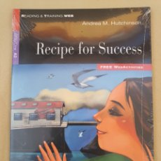 Libros: RECIPE FOR SUCCESS - ANDREA M. HUTCHINSON. Lote 209338113