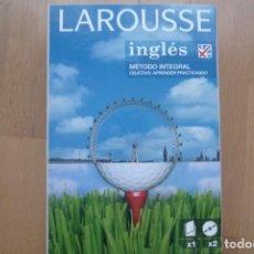 Libros: LAROUSSE INGLÉS METODO INTEGRAL.2007. 1 LIBRO Y 2 CD.NUEVO.. Lote 213608013