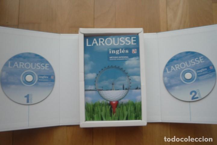 Libros: LAROUSSE INGLÉS METODO INTEGRAL.2007. 1 LIBRO Y 2 CD.NUEVO. - Foto 2 - 213608013