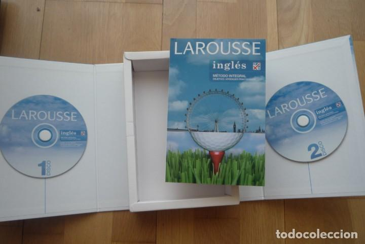 Libros: LAROUSSE INGLÉS METODO INTEGRAL.2007. 1 LIBRO Y 2 CD.NUEVO. - Foto 3 - 213608013