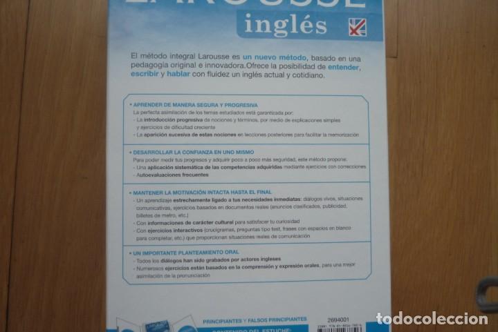 Libros: LAROUSSE INGLÉS METODO INTEGRAL.2007. 1 LIBRO Y 2 CD.NUEVO. - Foto 5 - 213608013