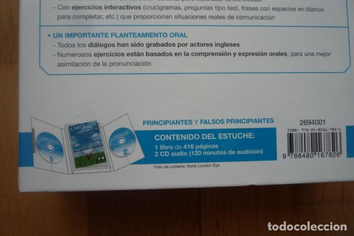 Libros: LAROUSSE INGLÉS METODO INTEGRAL.2007. 1 LIBRO Y 2 CD.NUEVO. - Foto 6 - 213608013