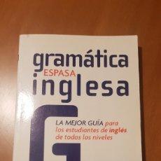 Libros: GRAMÁTICA INGLESA, EDITORIAL ESPASA. Lote 217167040
