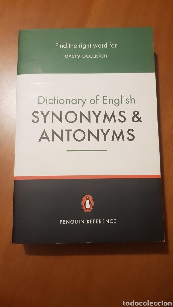 SINÓNIMOS Y ANTÓNIMOS, INGLÉS. (Libros Nuevos - Idiomas - Inglés)