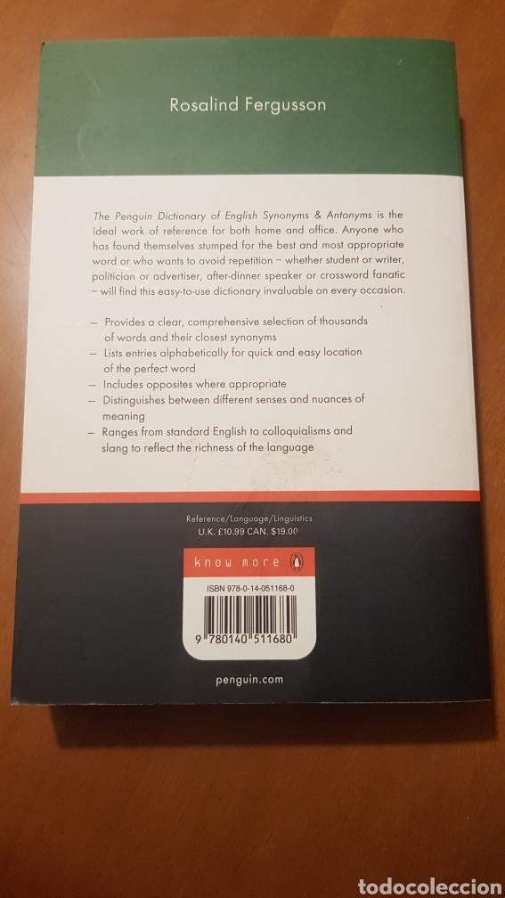Libros: Sinónimos y antónimos, inglés. - Foto 2 - 217167211