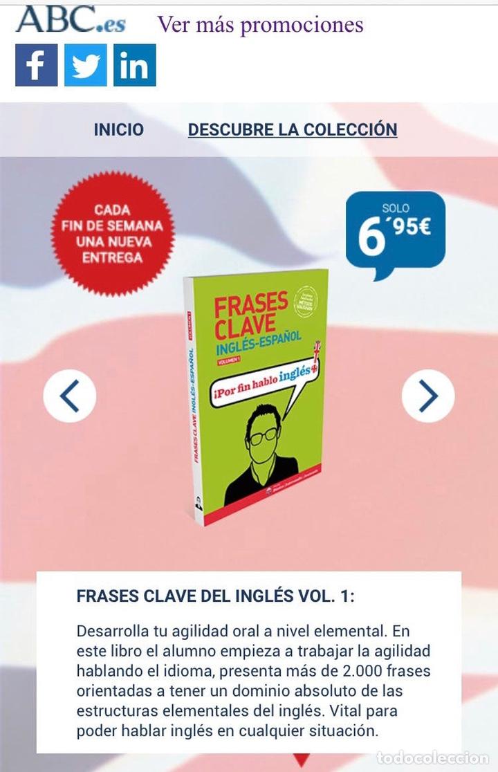 Libros: CLAVE INGLÉS-ESPAÑOL Vol1 VAUGHAN NUEVO - Foto 2 - 217197202