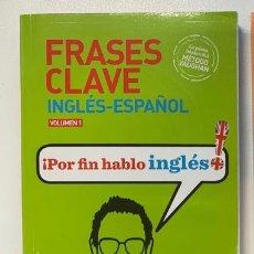 Libros: CLAVE INGLÉS-ESPAÑOL VOL1 VAUGHAN NUEVO. Lote 217197202