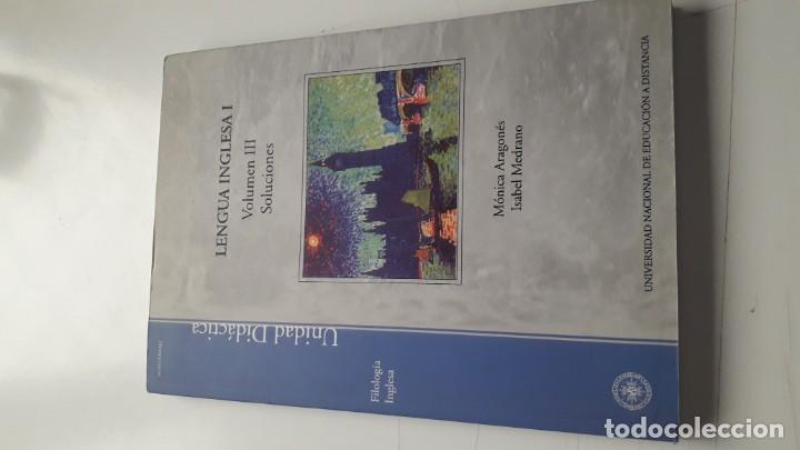 Libros: LENGUA INGLESA I (3 VOLS.) - Foto 3 - 218399547