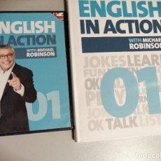 Libros: ENGLISH IN ACTION. LIBRO Y DVD PRIMERA ENTREGA. COLECCIÓN EL PAÍS. Lote 218511305