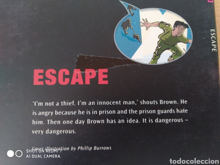 Libros: Escape. Phillip Burrows. Comic en inglés. Nuevo - Foto 2 - 218960916