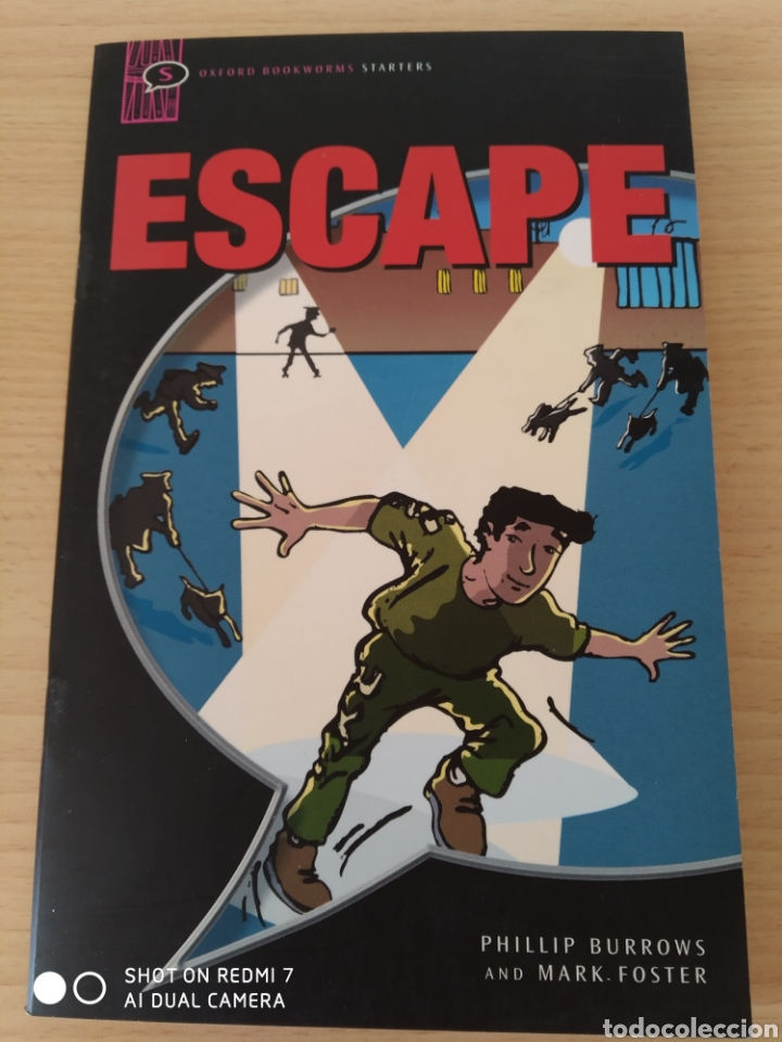Libros: Escape. Phillip Burrows. Comic en inglés. Nuevo - Foto 1 - 218960916