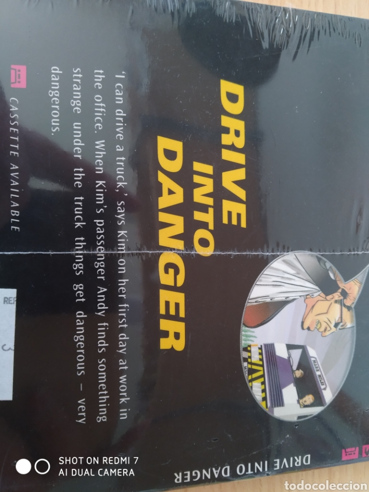 Libros: Drive into Danger. Rosemary Border Cómic+CD inglés. Nuevo - Foto 2 - 218961306