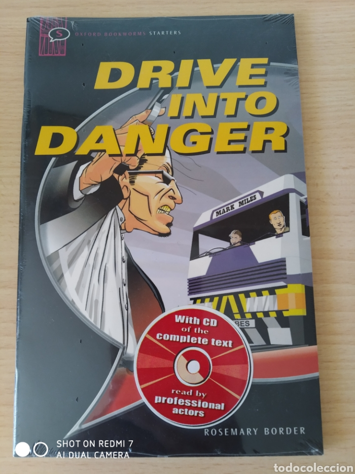 Libros: Drive into Danger. Rosemary Border Cómic+CD inglés. Nuevo - Foto 1 - 218961306