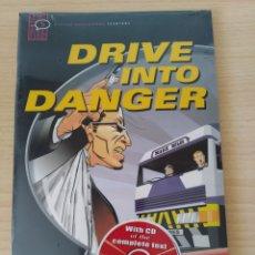 Libros: DRIVE INTO DANGER. ROSEMARY BORDER CÓMIC+CD INGLÉS. NUEVO. Lote 218961306